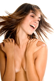 Cheap Breast Augmentation Products - Woman with nice shaped breasts