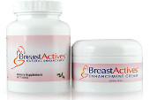 Breast Actives Cream and supplement