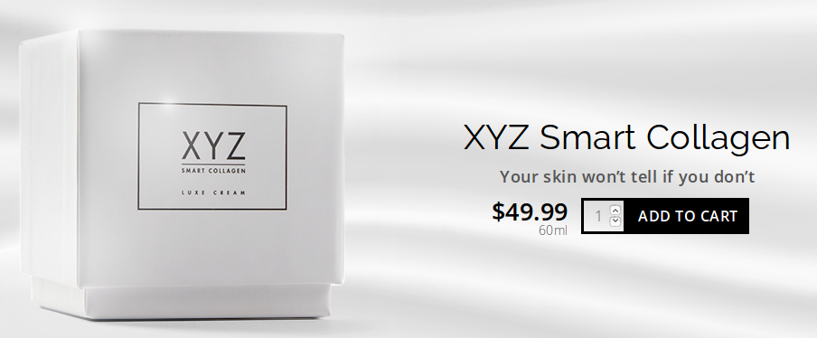 XYZ Collagen Banner