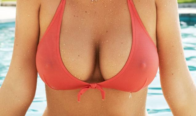 Firm breasts